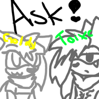 Ask ! Toixc or Goldy by SonilverFanForever