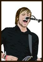 Charlie Simpson of Fightstar by TeegKetchen