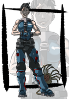 Politically incorrect Zarya by KukuruyoArt