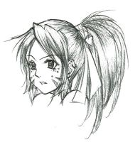 Kano - Festive Paint on Face by KitKatKitsune88