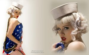 Navy girl mosh by Klaude-Hopper
