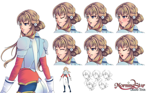 Arielle Character Sheet by Renmiou