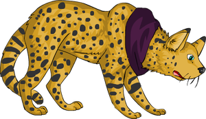 Servile Serval by Ruusho
