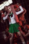 Highschool of the Dead - Saya Takagi V by Calssara