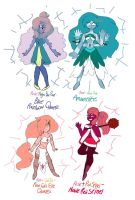 More Rosie fusions (For SeraphinaJade) by faithful24