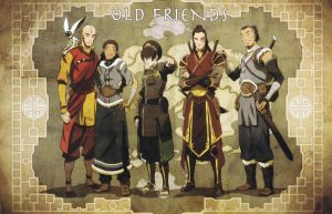 avatar old friends with logo by Cathyrhapsodiana