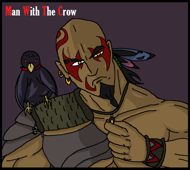 Man With The Crow by Goukimaster84