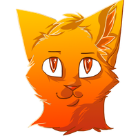 Firestar Headshot by ShadowMoonArts