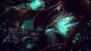 League Of Legends Lee Sin by Vionas