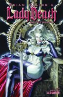 Lady Death Masterworks Canvas by felipemassafera
