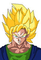 super saiyan by omegaproductions