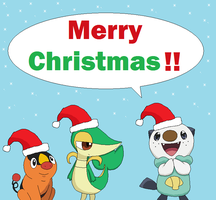 A Pokemon 5th Gen Christmas by thegamemaster27