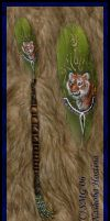 Tyger Magic Featherwand by Nashoba-Hostina