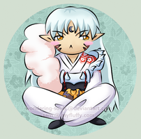 Chibi Sesshomaru by wondering-souls
