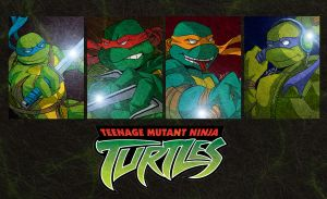 TMNT-Four Brothers by Onosaka-Yuha