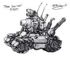 Metal Slug Super Vehicle 001 by Pinwizkid