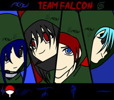 Team Falcon -Naruto OC group- by marionette14