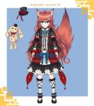 Adoptable Auction 32 Kitsune (Closed ) by chechoski