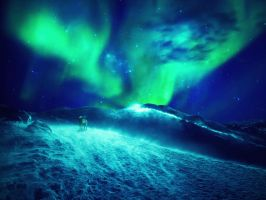 Northern Lights by IkyuValiantValentine
