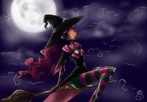 Layla Happy Halloween by fantazyme