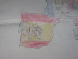 Close up on Spain and Portugal by Kage-Kyoodai