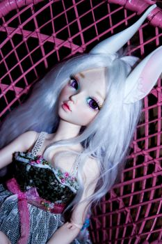 April the bunny by Vickster