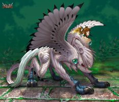 Anima: FeatherSphinx by Wen-M