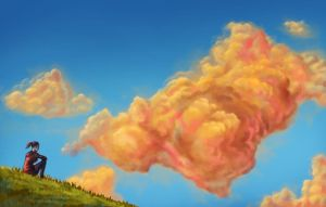 Evening Clouds by isdira