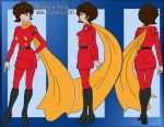 Rosa La Duca/Cyborg 00X reference Revamp by vixengal01