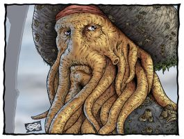 Davy Jones coloured by Alentrix