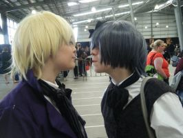 alois x ciel - pocky game by iidreamsss