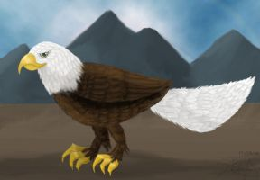 Bald Eagle by RaptorRexIII