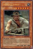 YGO Card: Indiana Jones by TexasChickenLittle
