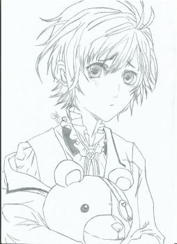Kanato Drawing by Akkanee