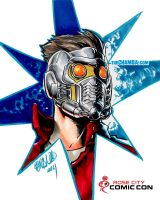 RoseCityComicCon2014 - StarLord by theCHAMBA