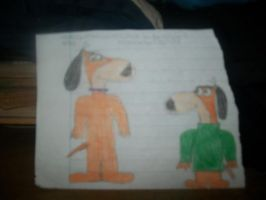Augie Doggie and Doggie Daddy by onlycartoons
