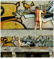 The Naked Guy by The-Kiwie