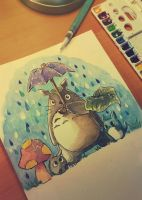 Totoro - The Sound of Rain by Rollychu