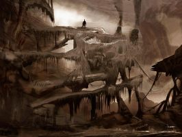 sepia wasteland by d3cap