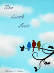 Three Little Birds Cover with Typography by Chrissyissypoo19