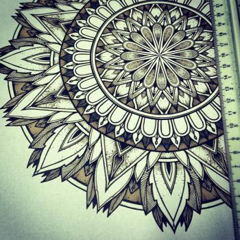 Solstice Mandala Project Day011 by OrgeSTC