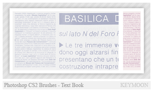 Text Book Brushes by KeyMoon