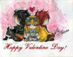::HnKnA::Happy Valentine Day by Kyo-Chans