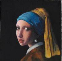 Girl with the pearl earring by dlazaru