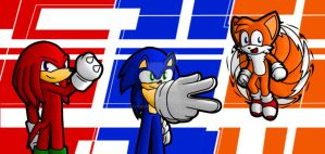 Sonic Heroes! by MyRedYoshi