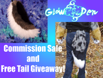 Commissions Sale and Tail Giveaway! by KikoJaharo
