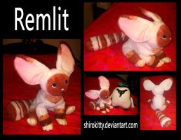 remlit plush by Shirokitty