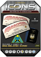 BSG Icons Vol 12 by CQ - Win by BSG75