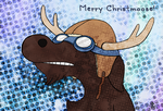 Christmas card for Ritchie and Heike by nuttycoon