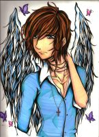 Angel Boy by KyogrePrincess16
